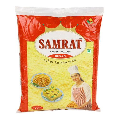 קמח חומוס - קמח בסן עשוי מצ'אנה דאל, מיובא ומשווק ישירות מהודו עד אליכם על ידי מהרג'ה.