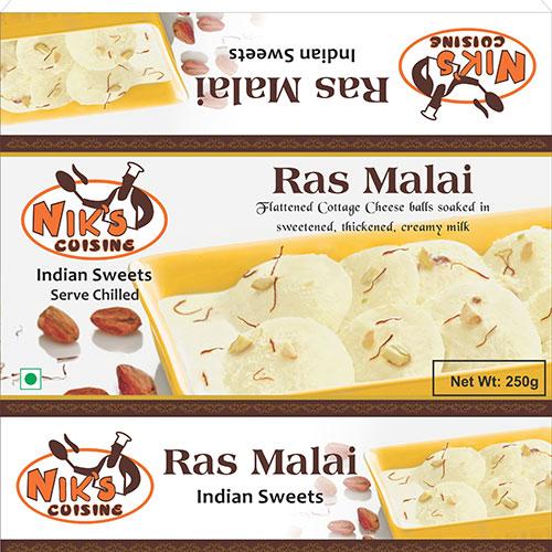 ראס מאלאי (Ras Malai) - הקינוח ההודי המסורתי והפופולרי.
