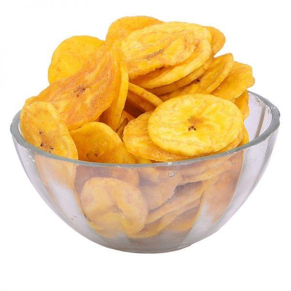 חטיף הודי שבבי בננה מתובלים